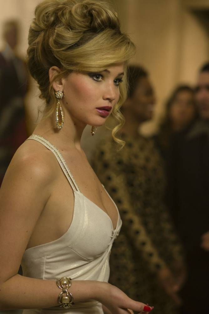 Jennifer Lawrence's role in American Hustle has once again put her in line for a Golden Globe (Picture: Columbia Pictures)