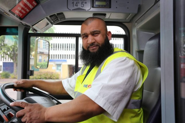 Hero bus driver rushes pregnant woman to hospital after waiting 75 minutes for an ambulance