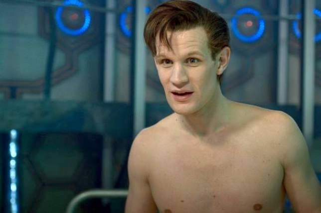 Doctor Who Christmas Special 2013.Doctor Who Christmas Special 2013 Matt Smith Gets Naked For