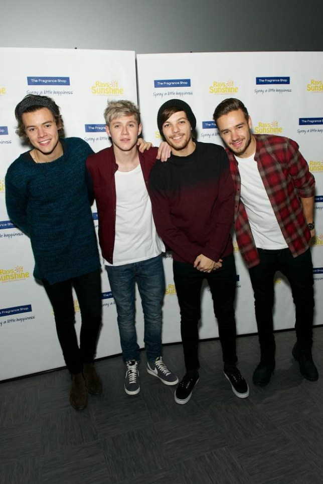 One Direction at Rays of Sunshine Children's Charity