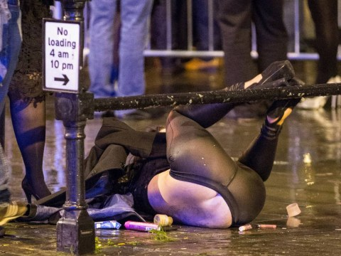 Mad Friday: Binge-drinking, arrests and dancing with office chairs… Britain at its worst on busiest night before Christmas