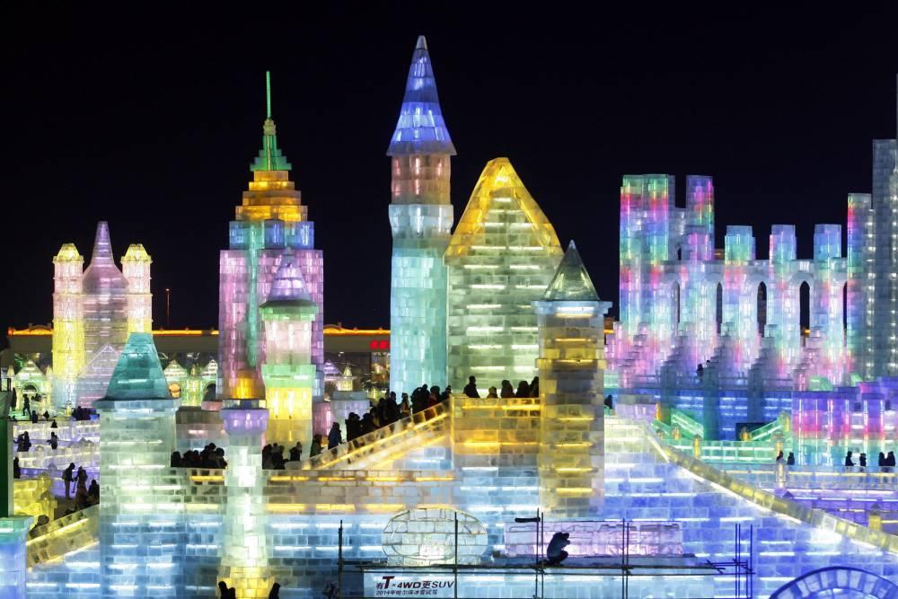 Gallery: Harbin ice and snow world 2013