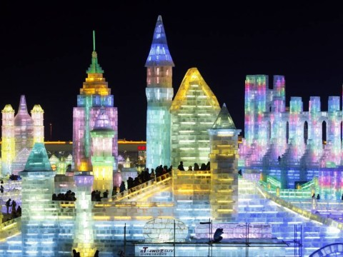 Gallery: Harbin ice and snow world 2013