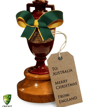 The Ashes 2013-14: Australia rub salt into the wounds by accepting Ashes 'gift'