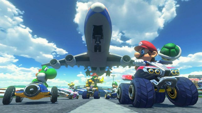 Mario Kart 8 - Nintendo's only online home console game