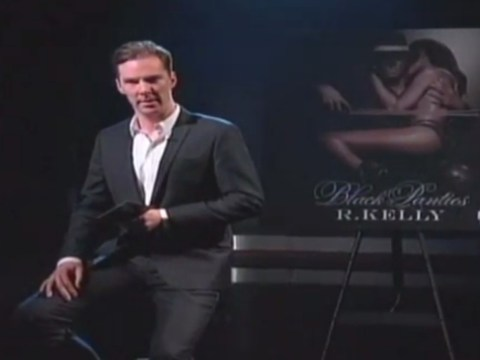 Benedict Cumberbatch gives sensual reading of R Kelly's new song Genius