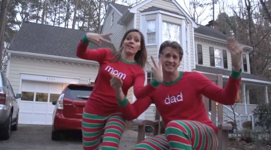 Merry Christmas from the Holderness family: Smug family rap might be the worst festive video ever