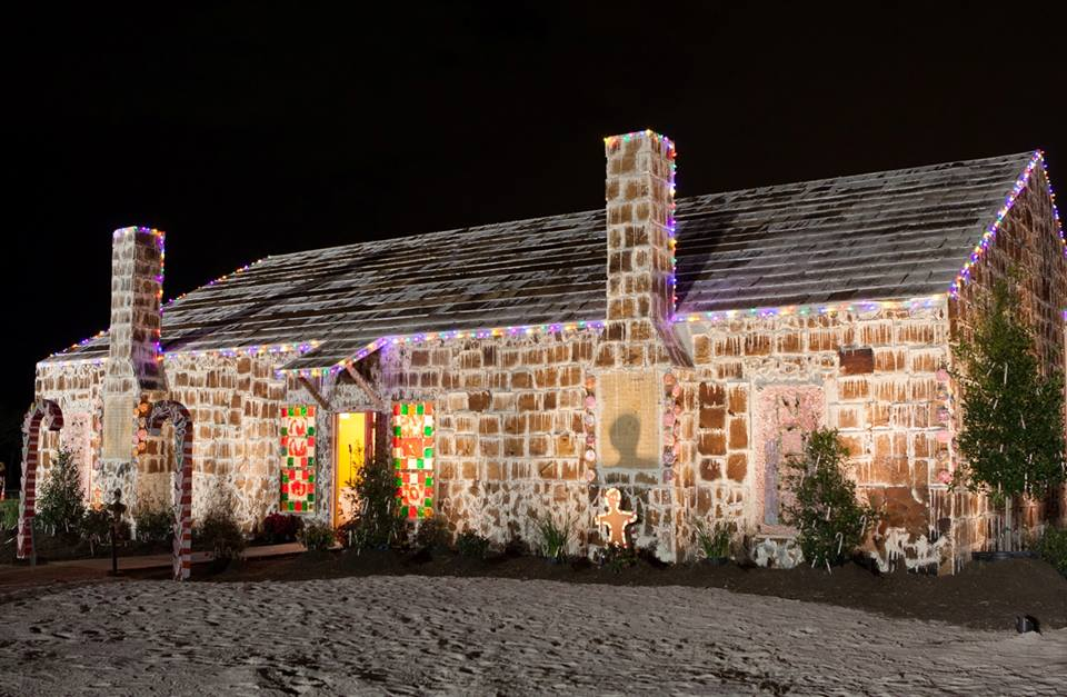 The world's largest gingerbread house in Texas (Picture: Tradition's Club)