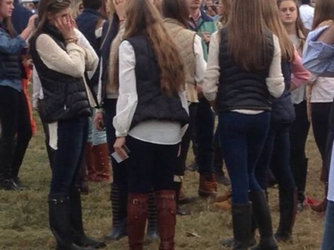 Epiphany: College girls dress like Han Solo