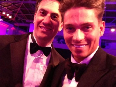Ed Miliband gets in on the selfie fun with… Joey Essex