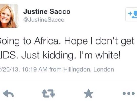 PR exec causes outrage on Twitter after racist Aids joke