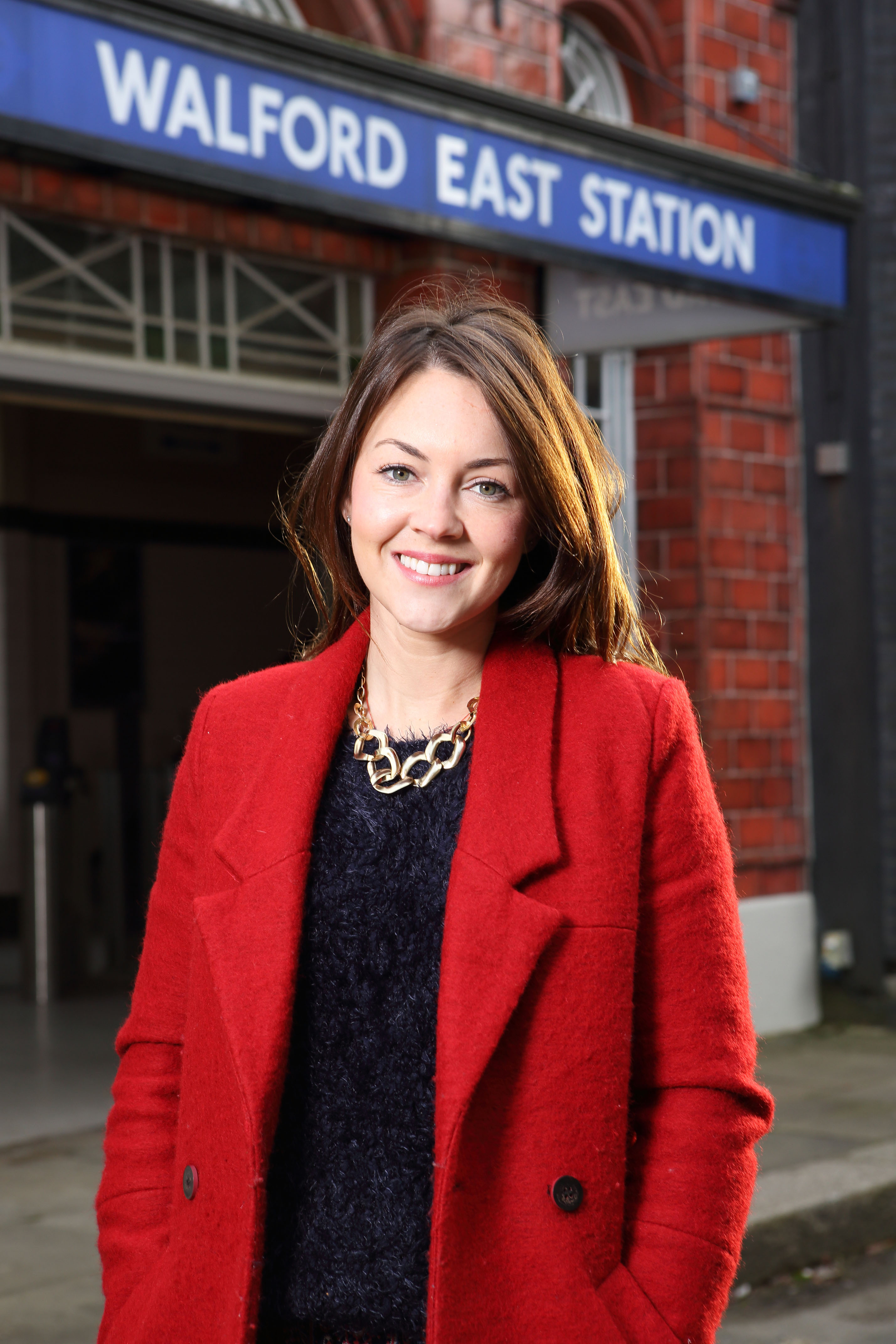 Stacey back in EastEnders: star Lacey Turner will reprise her role next year (Picture: BBC)