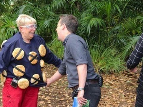 I'm a Celebrity 2013, Monday night's show: Laila Morse is second celeb to leave the jungle