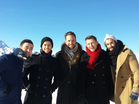 The Overtones reveal horror of being stranded on a mountain after filming German TV show
