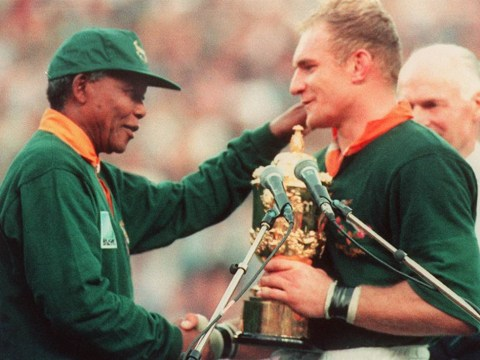 Nelson Mandela: We'll never forget those images from the 1995 Rugby World Cup