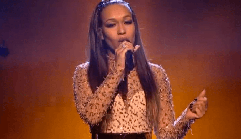X Factor fans surprised to hear Rebecca Ferguson still exists during results show performance