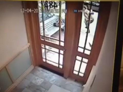 Video: 'Thief' twerked for an hour outside Brooklyn house before break-in