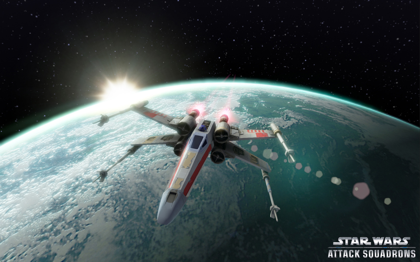 Star Wars: Attack Squadrons – it just impacted on the surface