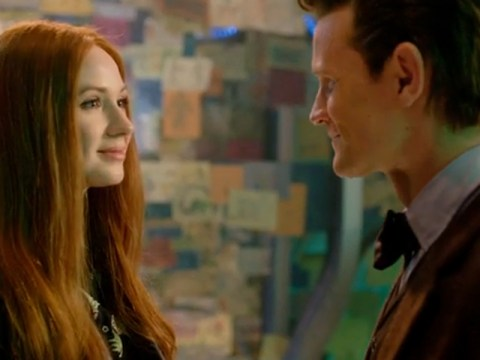 Doctor Who Christmas special: Whovians moved as Amy Pond returns to say goodbye to Raggedy Man