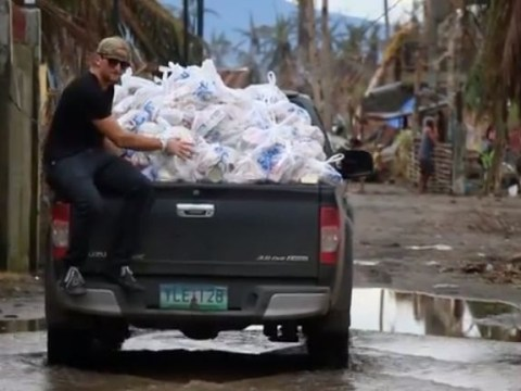 Man hired to make ad for Hollywood blockbuster spends budget on typhoon aid victims instead