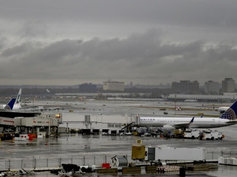 JFK airport closes after plane skids off icy runway