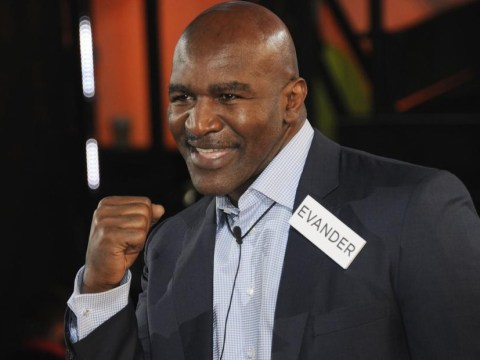 Who is Evander Holyfield?