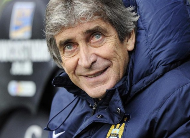 Manuel Pellegrini has another look at United's league position (Picture: Reuters)