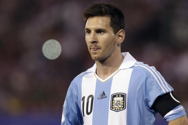 release date b8285 9f91d Ballon d'Or 2014: Could this be Lionel Messi's latest eye ...