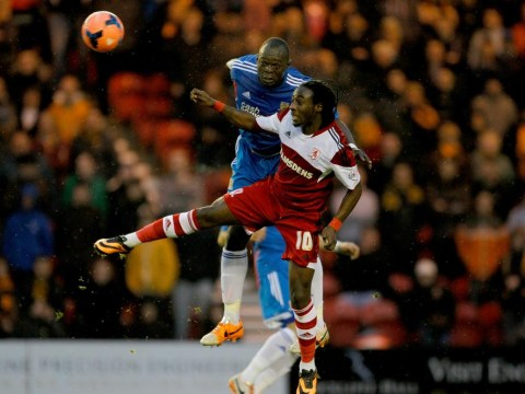 Middlesbrough striker Marvin Emnes set for a second loan spell with Swansea