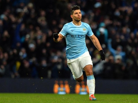 Sergio Aguero limps off injured after putting Manchester City ahead at Tottenham