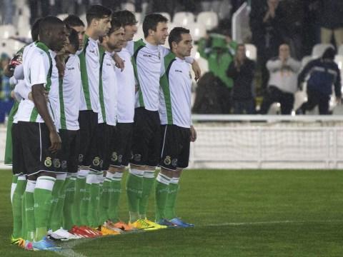 Racing Santander banned from next season's Copa del Rey after Real Sociedad protest