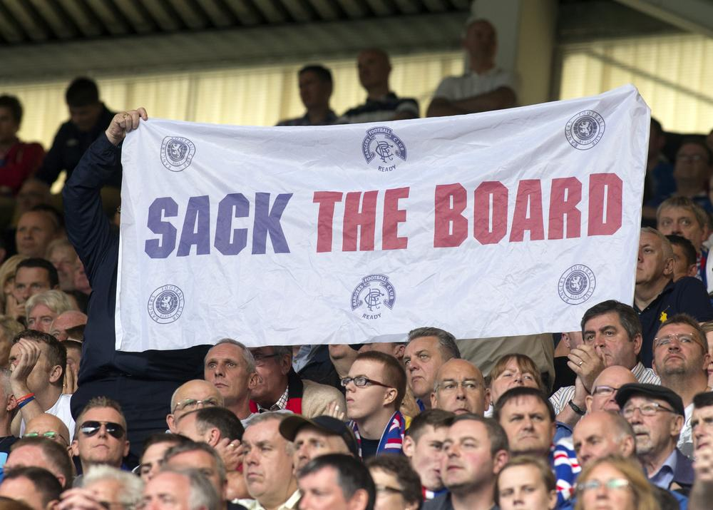Can chief executive Graham Wallace convince Rangers' support he knows what he's doing with the purse-strings?
