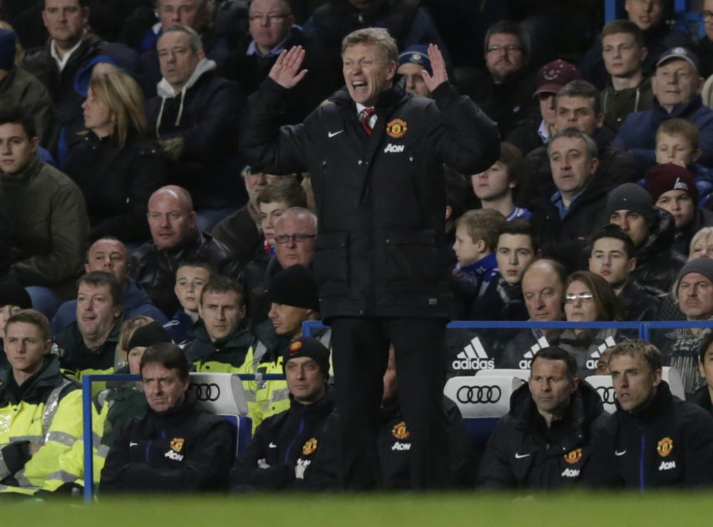 Despite the injuries David Moyes should take the blame for Manchester United's loss at Chelsea
