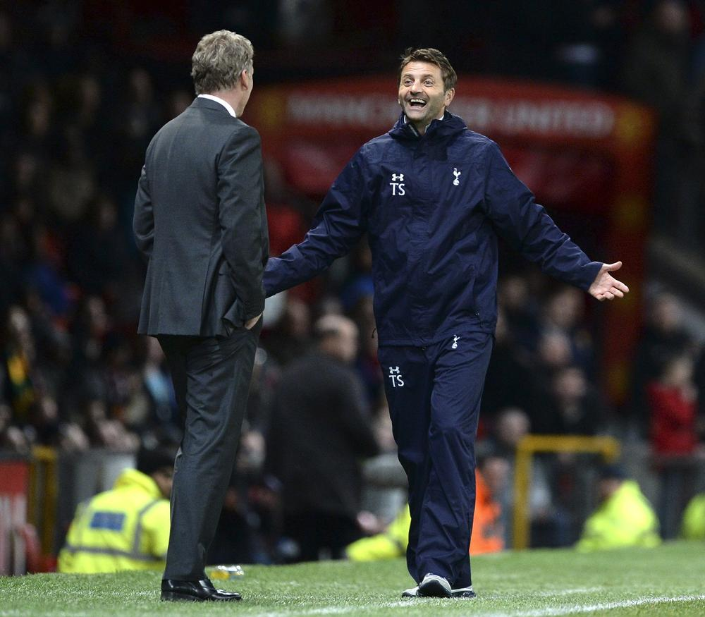 Tim Sherwood says he would have been upset if Tottenham didn't beat Manchester United