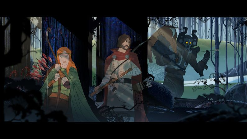 The Banner Saga (iOS) - no need to wait for the PS4