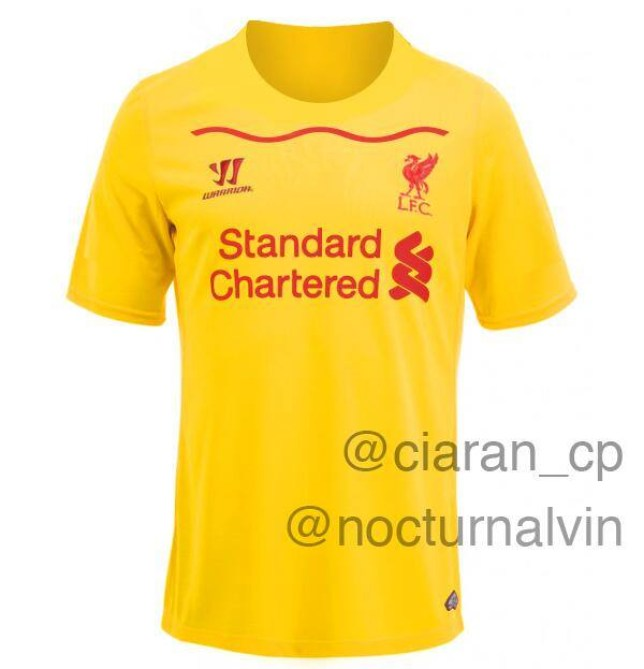 the latest 74e35 ddf8f Liverpool kit leak: Is this dazzling design Liverpool's new ...