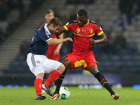 Christian Benteke produces international miss of the season for Belgium against Ivory Coast