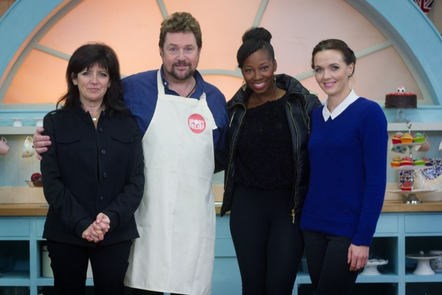 Great Sport Relief Bake Off: Emma Freud, Michael Ball, Jamelia, Victoria Pendleton