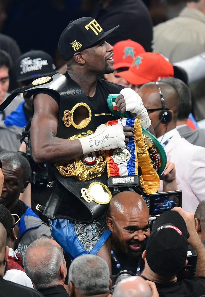Floyd Mayweather Jr denies reports a deal has been struck to fight Manny Pacquiao