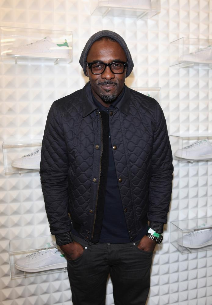 Idris Elba laughs off awards snubs while partying with Naughty Boy and Wretch 32
