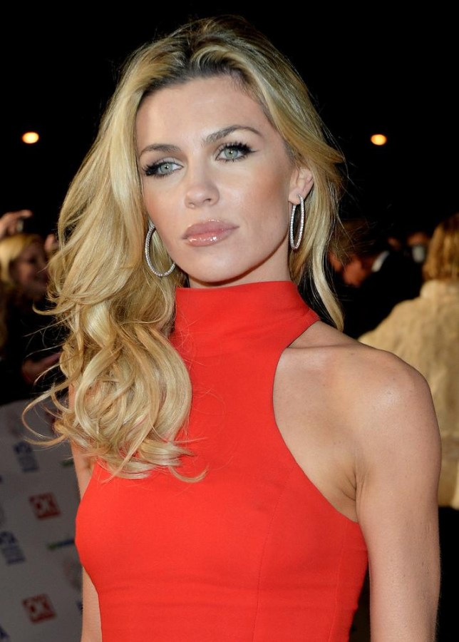Scarlet woman - Abbey Clancy was one of the best dressed at the NTAs 2014 (Picture: David M. Benett/Getty Images)