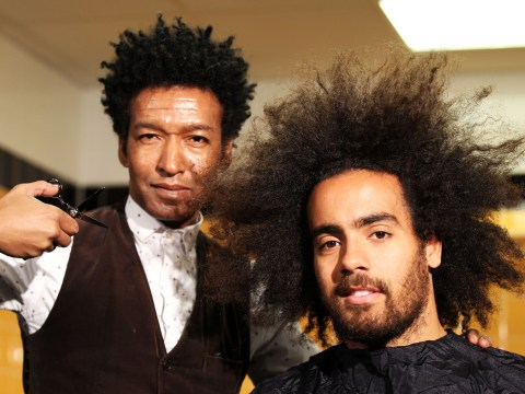 Gallery: Tom Huddlestone of Hull City cuts his hair
