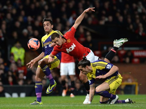 Gallery: FA Cup 2014 – Third Round – Manchester United v Swansea City