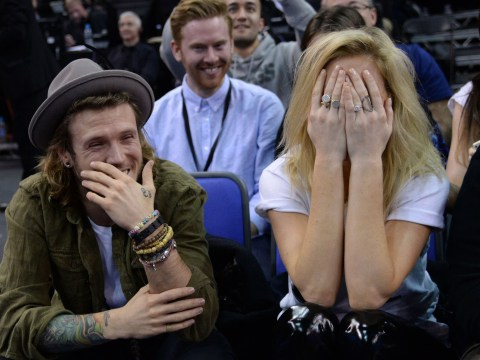 Dougie Poynter denies Ellie Goulding romance on The Jonathan Ross Show: 'We're friends'