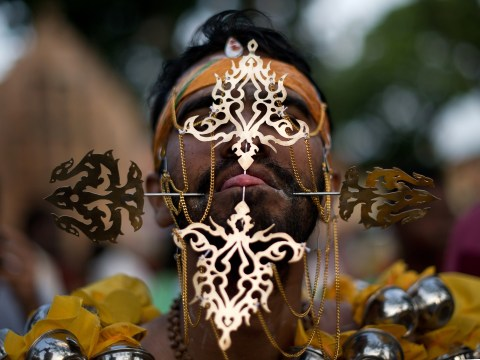Gallery: Hindu devotees celebrate Thaipusam festival across the world