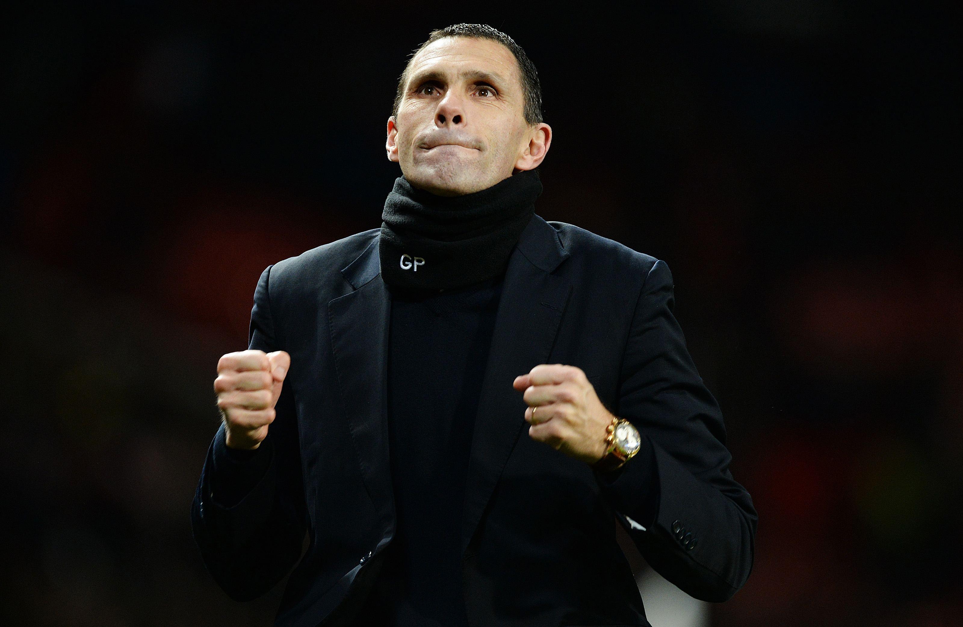 Sunderland's manager Gus Poyet