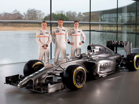 Gallery: Formula One – McLaren MP4-29 Launch 2014