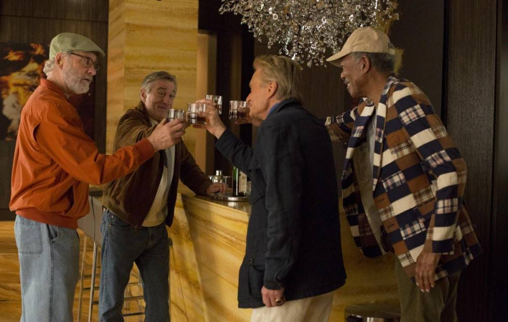Sorry Robert De Niro, Kevin Kline, Michael Douglas and Morgan Freeman, Last Vegas fails to shine