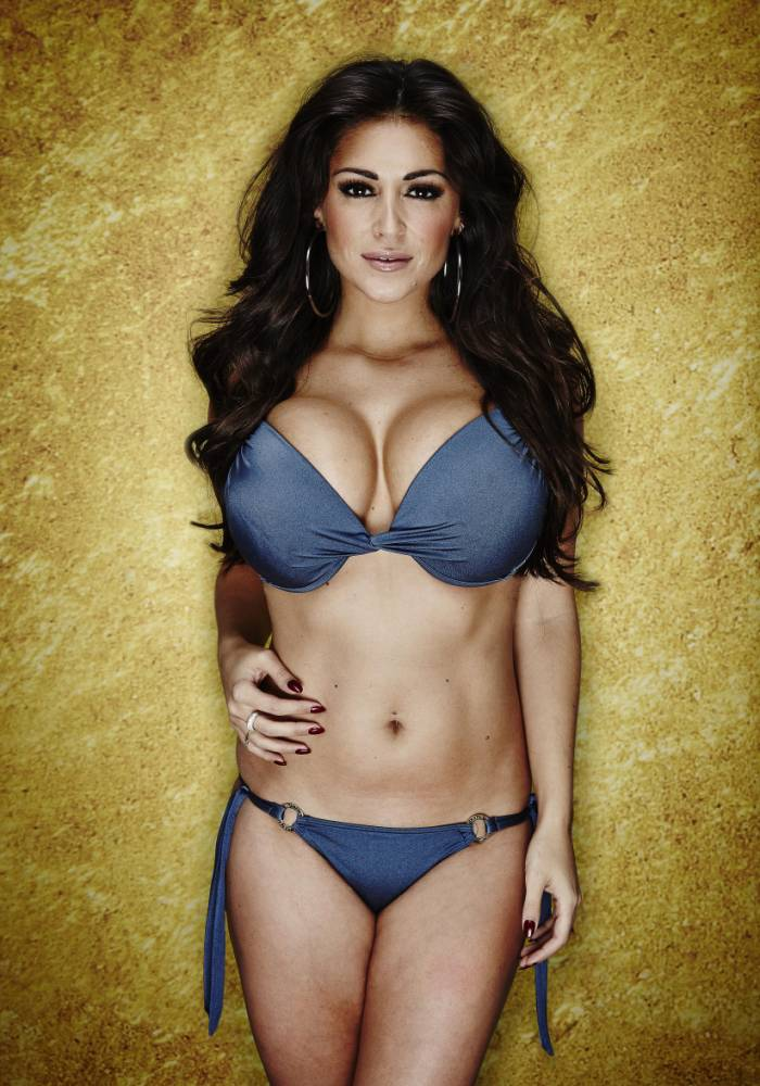 Celebrity Big Brother 2014: Casey Batchelor (Picture: Matt Frost / Channel 5)