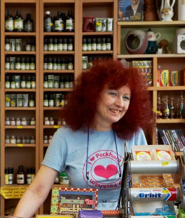 Sally Butcher's corner shop, Persepolis, is in Peckham, south-east London (Picture: Yuki Sugiura)